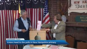 Voters head to the polls in New Hampshire primary