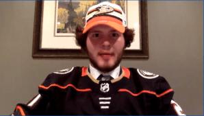 Petes' forward Mason McTavish taken 3rd overall by Anaheim Ducks in 2021 NHL Draft (01:38)