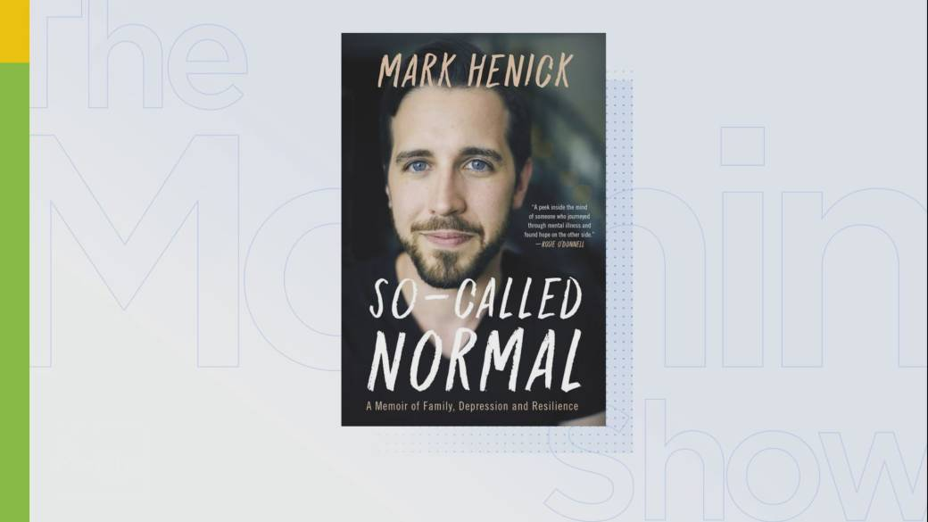 Click to play video 'Author Mark Henick on the man who saved his life'