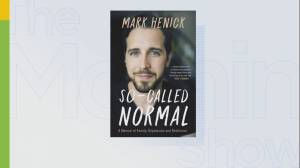 Author Mark Henick on the man who saved his life (05:02)