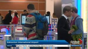 Dec. 20 is busiest day at Edmonton International Airport