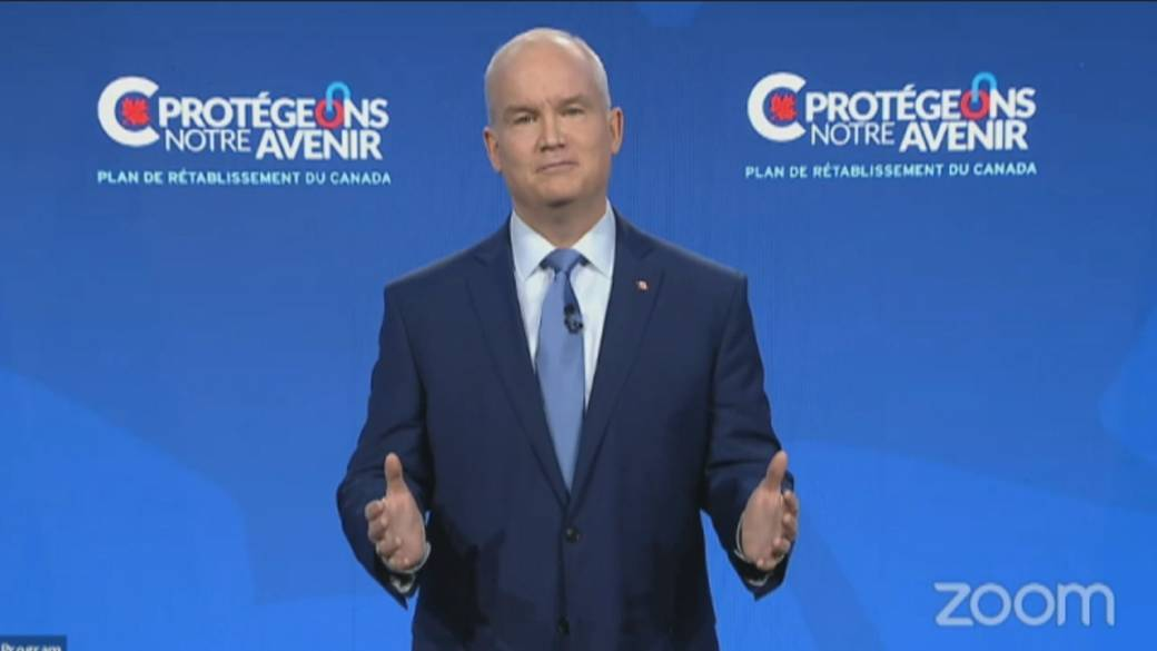Click to play video: 'O'Toole's Conservatives face climate change challenge'