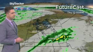 Wet Thursday: Sept. 15 Manitoba weather outlook (01:40)