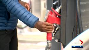 Calgarians paying considerably more at gas pumps than Edmontonians (01:43)
