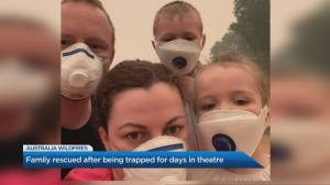How a Canadian family survived the Australia wildfires
