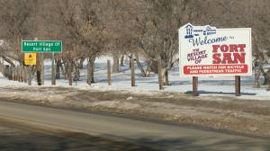 Some Fort San, Sask., residents opposed to adding treatment facility (01:51)