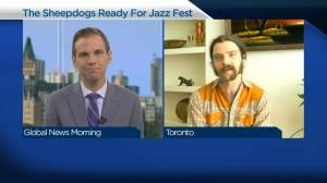 The Sheepdogs returning to Saskatoon for Saskatchewan Jazz Festival (04:23)