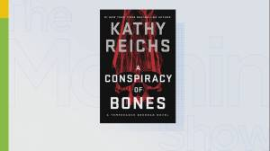 Author Kathy Reichs on her new book