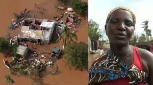 Cyclone Eloise: Drone footage shows devastation in Mozambique as thousands displaced from flooding (02:20)