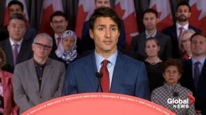 Federal Election 2019: Trudeau says he'll 'always stand up for Canadian jobs' on SNC-Lavalin issue