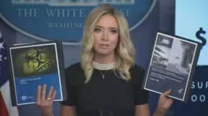 Coronavirus outbreak: White House calls Obama-era pandemic plan 'thin' (06:09)