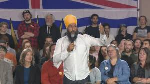 Federal Election 2019: Singh says NDP will create 300K jobs to 'tackle climate crisis'