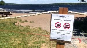 Department of Environment investigates possible contamination at Grand Lake (01:51)