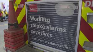 Calgary officials provide safety tips as fire prevention week kicks off