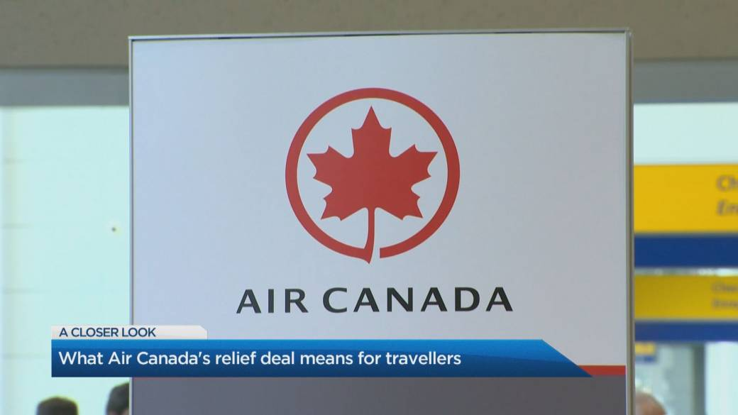 Click to play video: 'Air Canada reaches bailout deal with Ottawa, refund plans for customers'