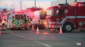 Ammonia leak shuts down roads in northeast Edmonton