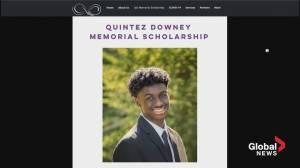 Local social enterprise launches Quintez Downey Memorial Scholarship (05:56)