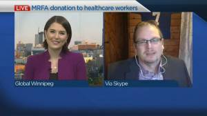 MRFA donation to healthcare workers (03:39)