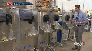 Beauharnois company starts building mobile sinks amid pandemic