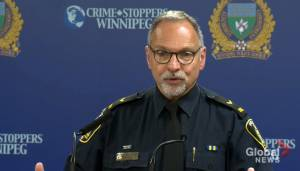Winnipeg police talk about fatal officer-involved shooting in Charleswood