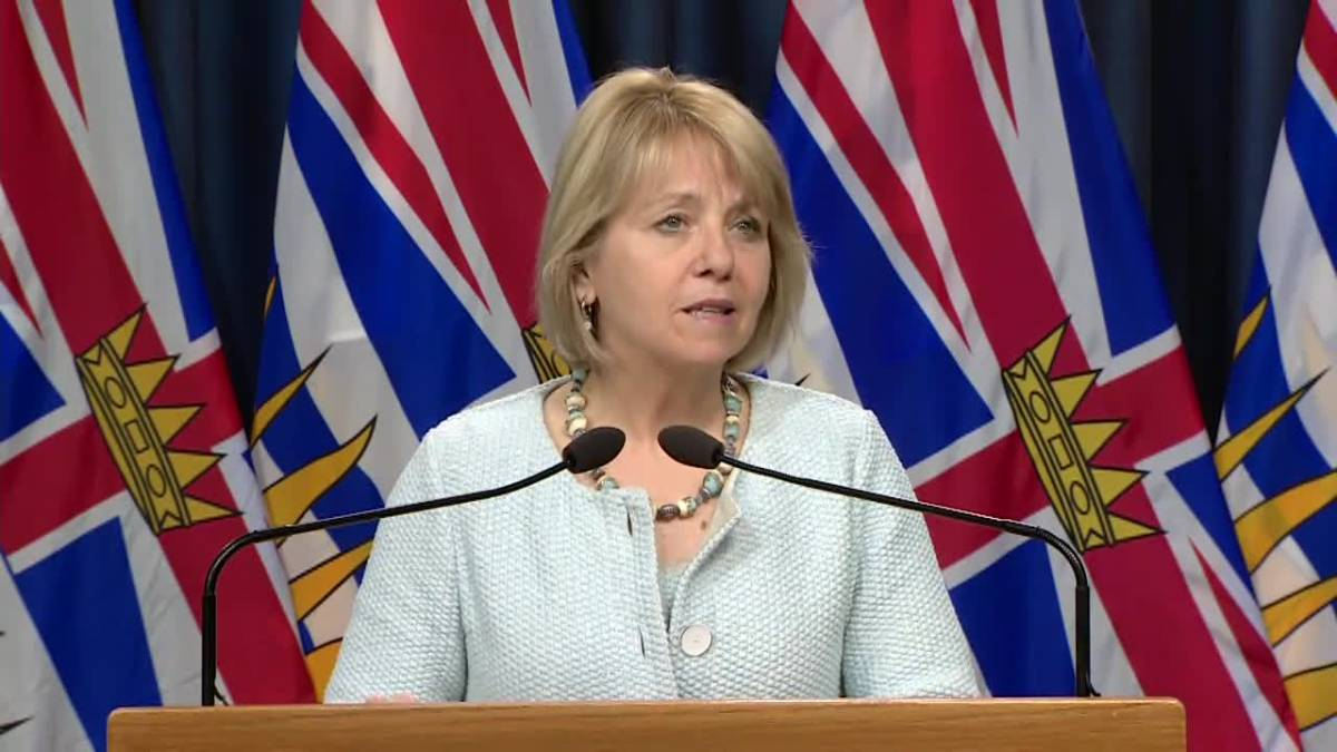 WATCH: B.C.'s daily coronavirus update with Dr. Bonnie Henry ...