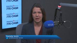 Danielle Smith joins the conversation on Global News Morning Calgary (03:25)