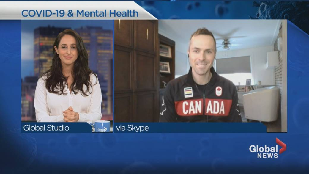 Click to play video 'A lockdown mental-health check-in'