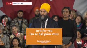 Federal Election 2019: 'Tax the rich!' chant erupts at NDP headquarters
