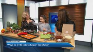 How to include kids in the kitchen