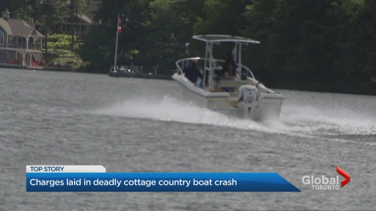 Click to play video: 'Kevin O'Leary's wife charged in connection with fatal boat crash in northern Ontario'