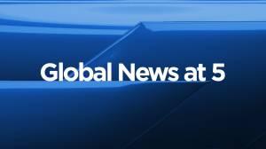 Global News at 5 Edmonton: Sept. 3 (10:48)