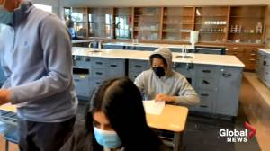 Quebec announces measures to help students catch up after COVID-19 disruptions (01:55)
