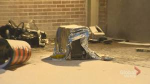 Girl critically injured after being hit by falling air conditioner