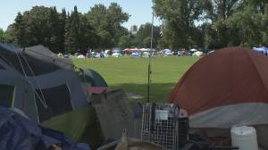 Strathcona encampment growing ahead of Park Board meeting on overnight camping