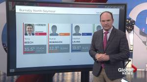 Canada election: B.C.'s Burnaby North-Seymour riding is one to watch (00:57)