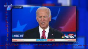 Stephen Colbert mocks Joe Biden's political gaffes from the 5th Democratic Presidential Debate