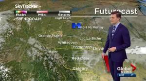 Edmonton weather forecast: Friday, November 27, 2020 (03:29)
