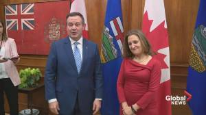 Canada's new deputy prime minister visits Edmonton