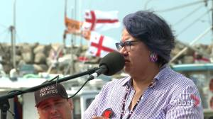 Assembly of First Nation national chief shows support for N.S. fishers (01:45)