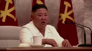Kim Jong Un praises North Korea's COVID response