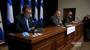 Quebec health authorities warn people to be careful about private gatherings