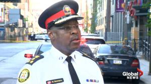Man dead, 2 others wounded in downtown Toronto daylight shooting