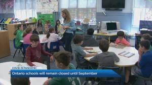 Why Ontario is keeping schools closed until September