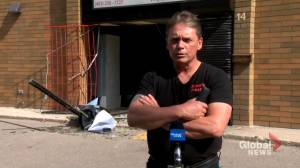 Owner of Calgary meat shop frustrated after thieves cause extensive damage to business (01:23)