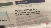 Play video: New newspaper launches in Vaudreuil