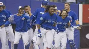 Baseball's back: Toronto welcomes Blue Jays home, after pandemic kept team away for 670 days (01:48)