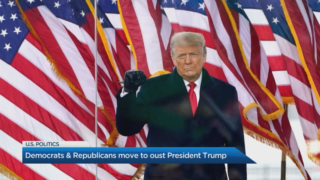 Click to play video 'Will a Trump impeachment further divide America? Expert weighs in'