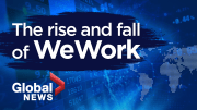 Play video: The rise and fall of WeWork