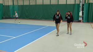 Saskatchewan tennis sisters ranked first in province
