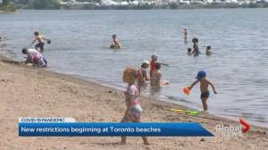 Toronto clamping down on big beach parties